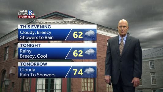 Another Soaker. Storms Wednesday