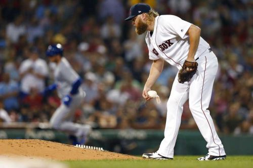 New Red Sox starter Andrew Cashner gets roughed up by Blue Jays