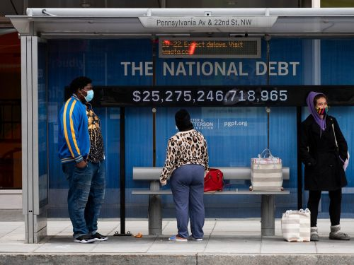 The US national debt isn't actually very high, BofA says