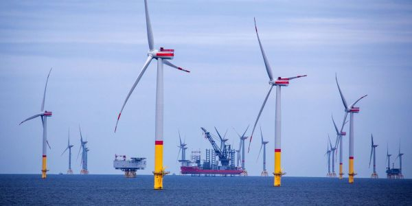 Goldman Sachs reveals the 8 'green energy majors' that are set to shoot up in value in a sector worth trillions of dollars as the renewables race heats up