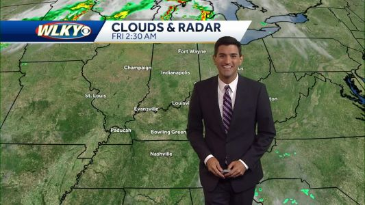 Heat builds Friday into the weekend