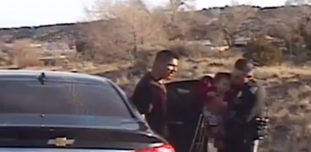 Dash-cam captures moments NMSP officer saves choking baby