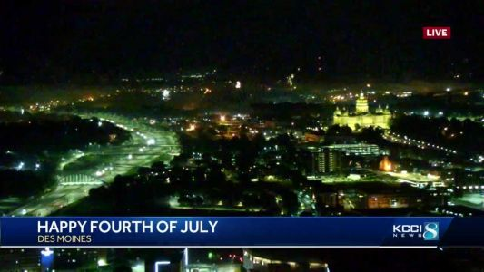 Des Moines police receive 422 calls on fireworks during July 4