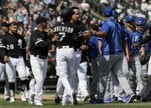 White Sox, Royals benches empty after Brad Keller throws at Tim Anderson