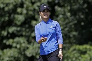 Coming off victory, Kang ties for lead in Marathon Classic