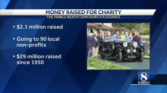 Pebble Beach Concours D'elegance raised millions for local charities
