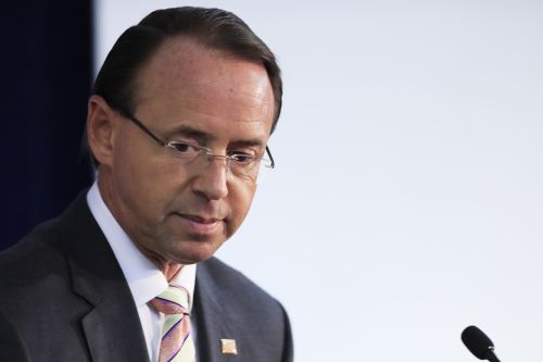 Deputy Attorney General Rosenstein not fired, will meet with Trump Thursday