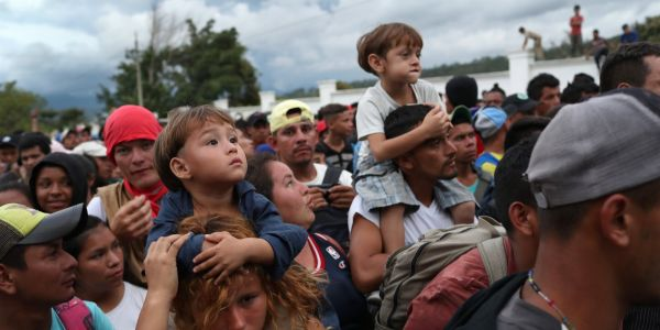 A caravan of thousands of Honduran migrants is traveling through Central America trying to reach the US border, and Trump is furious