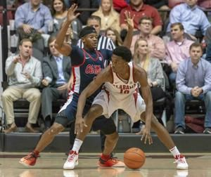 Petty, Hall lead Alabama past No. 20 Ole Miss 74-53