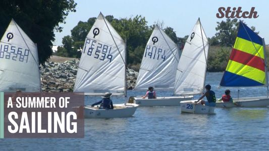 Kids spend summer vacation learning to sail