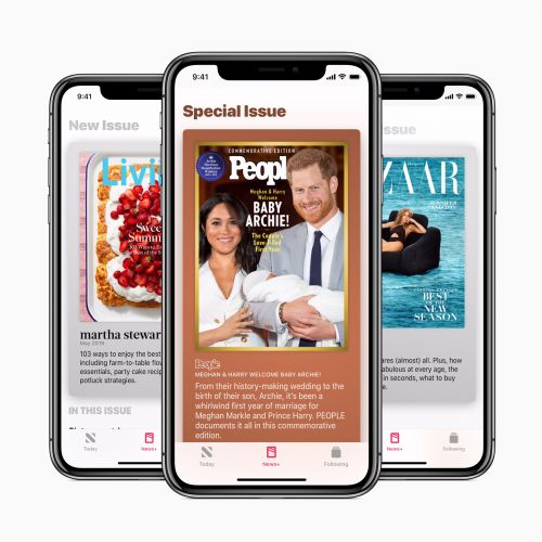 Apple News+ offering exclusive covers, innovative storytelling from hundreds of publishers