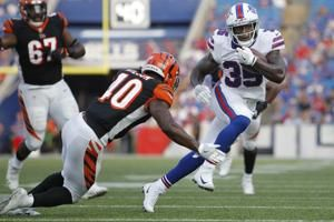 Bills' McCoy won't rule himself out after missing practice