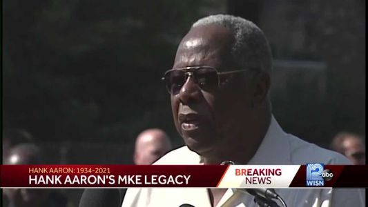Hank Aaron's roots run deep in Milwaukee