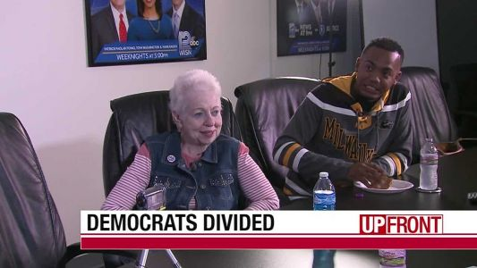 Democrats divided in presidential race