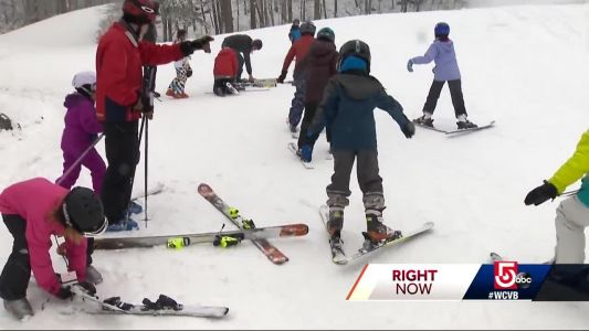 Snowy President's Day makes for fun on the slopes