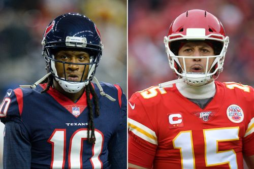 DeAndre Hopkins uses Patrick Mahomes deal to shade Texans again