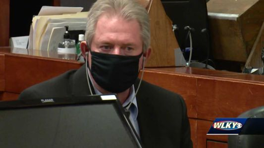 Day 1: Emotional testimony opens trial of former MSD driver charged in LMPD officer's death