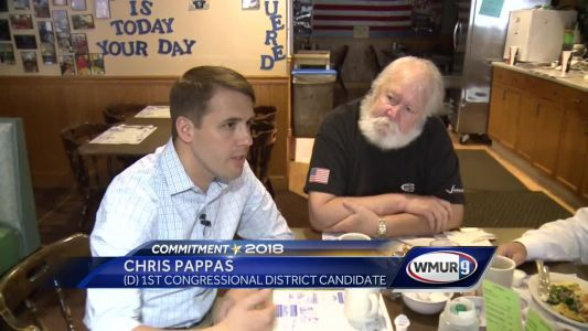 On the Road with Democrat Chris Pappas, candidate for CD1