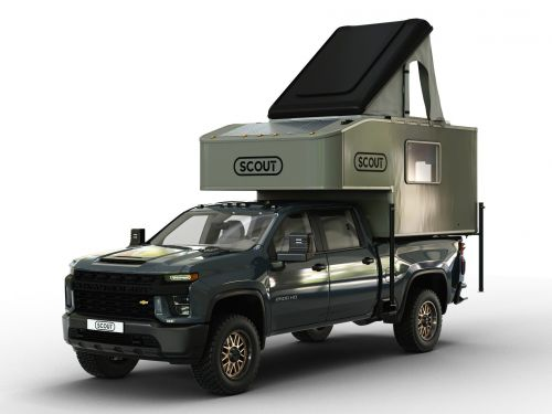 Scout Campers' newest and largest pickup truck-mounted RV can sleep up to 6 people - see inside the $23,625 Kenai