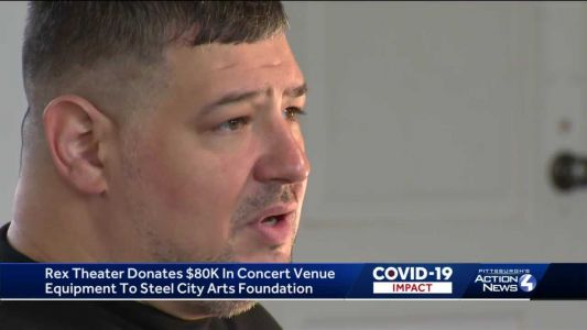 Rex Theater donates $80K in concert venue equipment to Steel City Arts Foundation