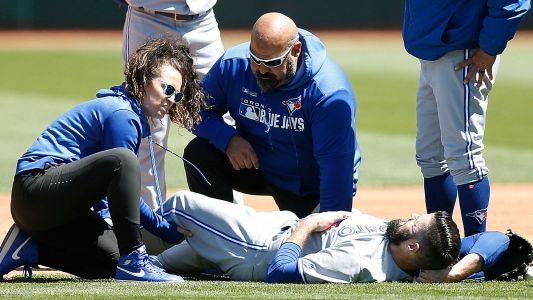 Matt Shoemaker injury update: Blue Jays starter tears ACL, out for season
