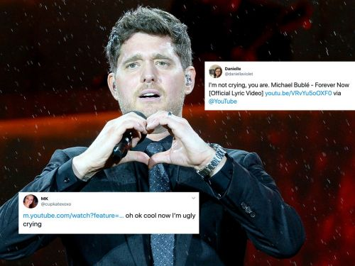 Parents and non-parents alike are losing it after watching an emotional video for Michael Bublé's song 'Forever Now'