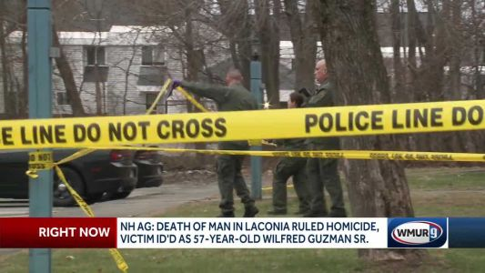 Laconia man's death ruled a homicide