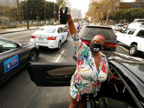 Prop 22 has courted the endorsement of California's NAACP president - and Uber and Lyft have paid her consulting firm $85,000 to boost the controversial measure