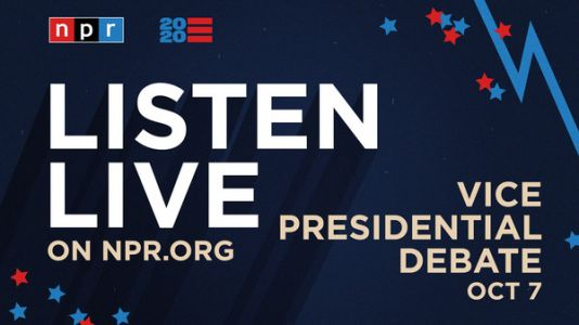 Live: Listen To The Vice Presidential Debate