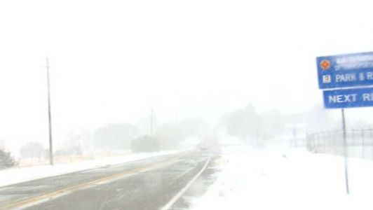 Blizzard warning keeping NMDOT crews busy on roads