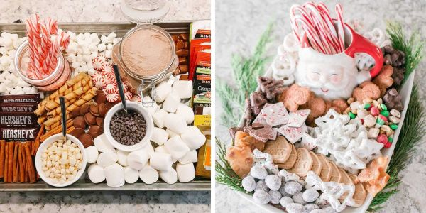 People are making hot chocolate charcuterie boards to build the perfect mugs of hot cocoa