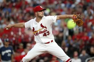 Hudson has no-hitter through 6 innings for Cards vs Brewers
