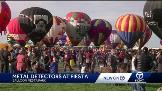 Metal detectors, undercover officers: Security ramps up for Balloon Fiesta