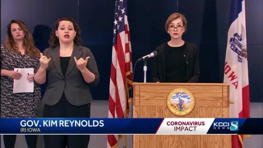WATCH LIVE: Gov. Reynolds addresses Iowans after 85 new COVID-19 cases confirmed