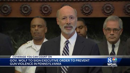 Gov. Tom Wolf's gun violence executive order will create new state offices