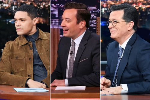 Late night hosts crack first jokes about Kamala Harris' vice presidential bid