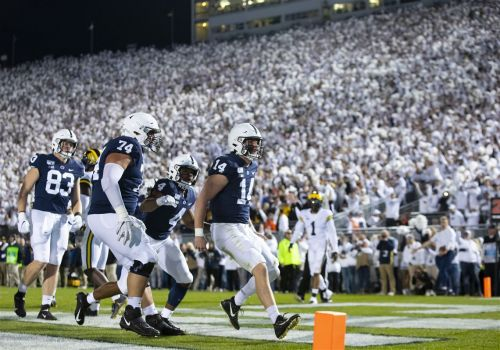 Penn State gets big lead, holds on with 28-21 win