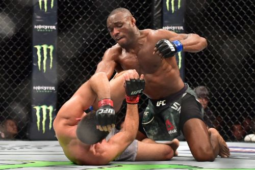 Kamaru Usman on facing former teammate Gilbert Burns at UFC 258: 'There's no friends in there'