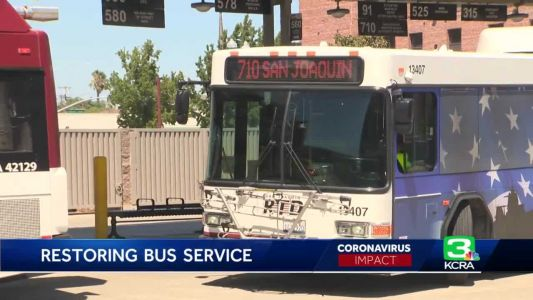 San Joaquin Regional Transit District to begin service again