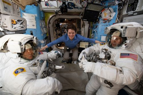 NASA Astronauts Are Taking a Spacewalk Today: Watch It Live!