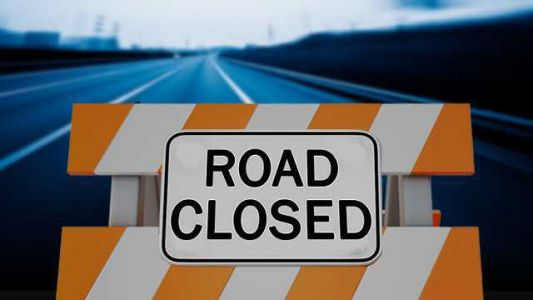 High water closes I-29 ramps at Sidney, IA