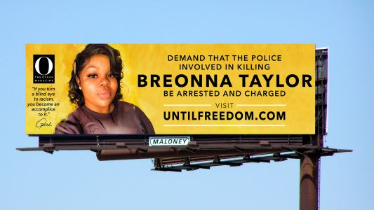 Oprah's magazine erecting 26 billboards of Breonna Taylor around Louisville