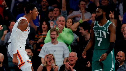 Epic Knicks-Celtics double-overtime thriller gets LeBron James and Twitter buzzing