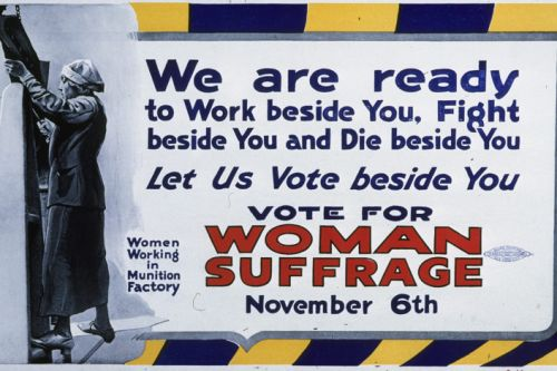 How World War I strengthened women's suffrage