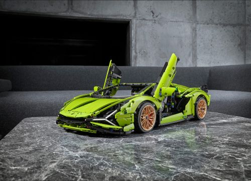 Lego is releasing a $379 kit to build a mini Lamborghini Sian hypercar that looks just like the real thing