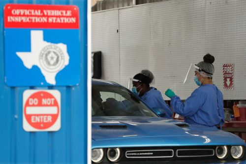 Testing mess leaves Texas in the dark as cases spike