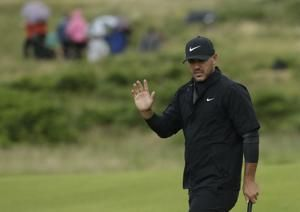 The Latest: Woods, Mickelson both miss cut in major