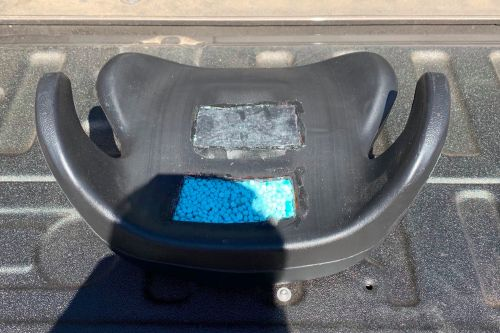 $1M in fentanyl pills found inside 6-year-old's car seat