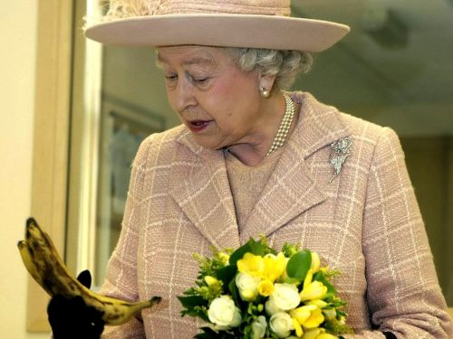 The queen reportedly eats bananas with a knife and fork so she doesn't look 'like a monkey'