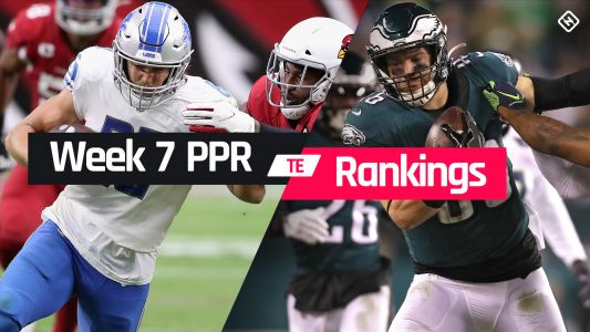 Week 7 Fantasy Football Tight End PPR Rankings